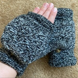 ❄️Knitted winter gloves